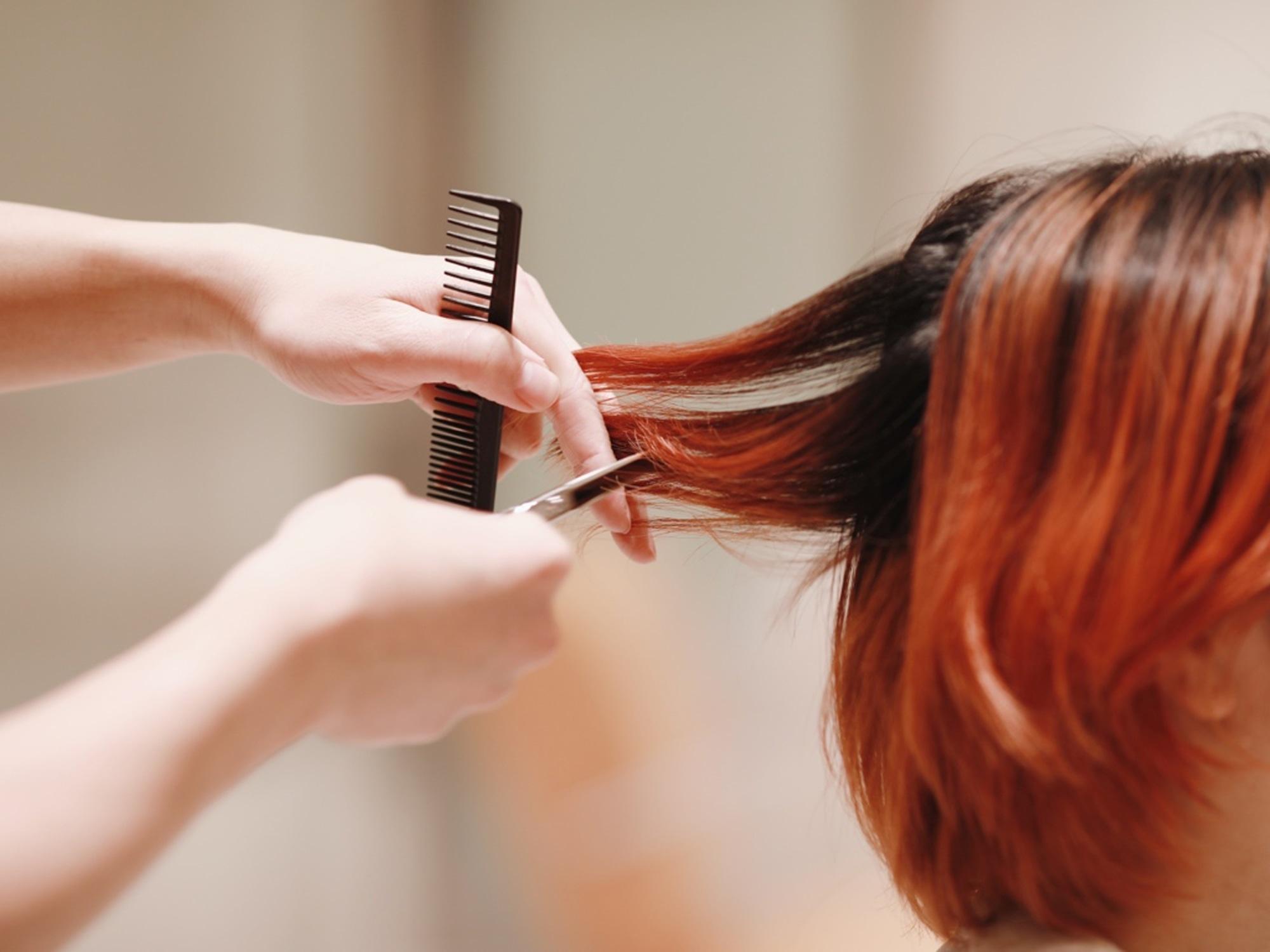 カットという技法ではなく髪の毛、1本1本の表情をつくる